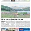 """«Die Route """"El Cinquè Llac"""" in fünf Etappen Montcortès: Der Fünfte See», Voralberger Nachrichten 2014 07 05"""